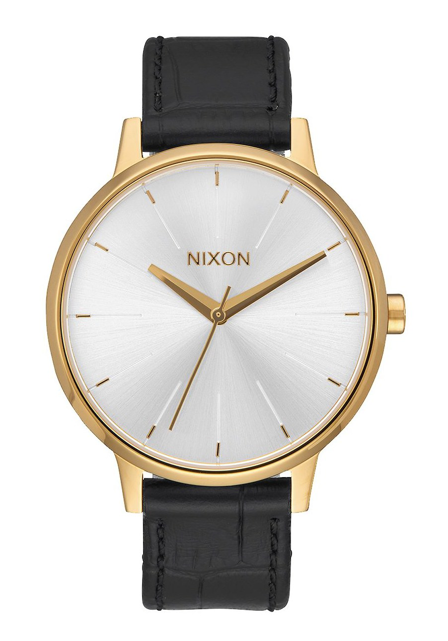 Nixon The Kensington Leather Gold / Black Gator