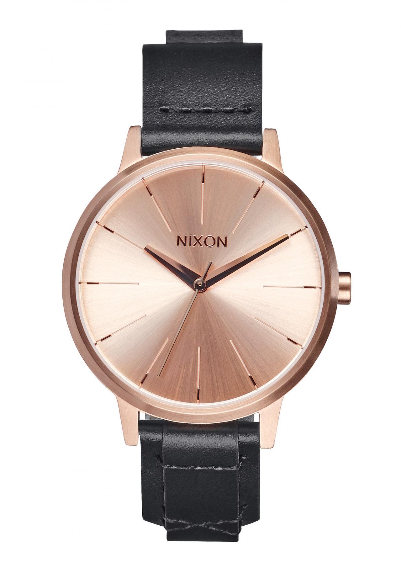 Nixon The Kensington Leather Rose Gold Bridle