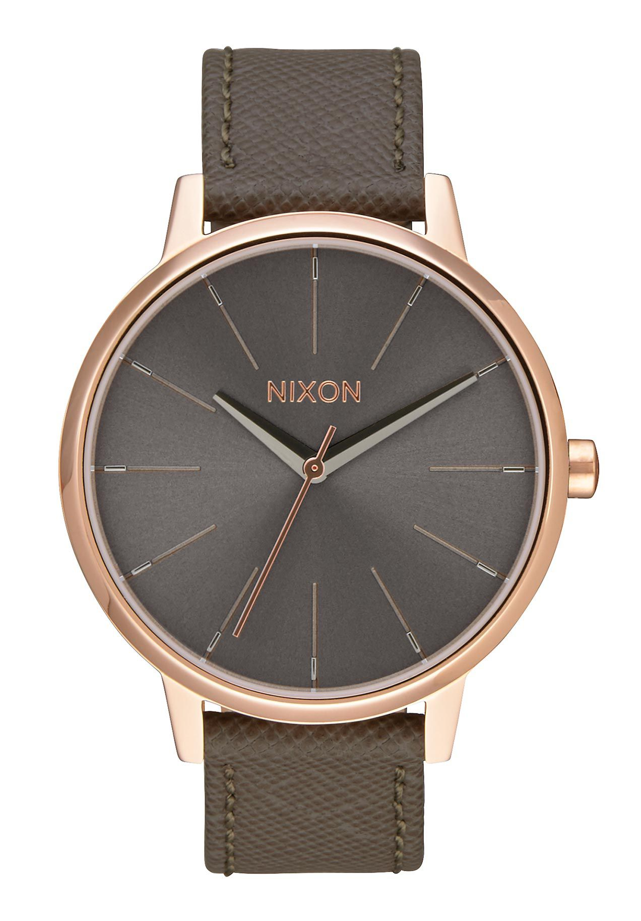 nixon the kensington leather rose gold taupe a1082214 nur 149 00. Black Bedroom Furniture Sets. Home Design Ideas
