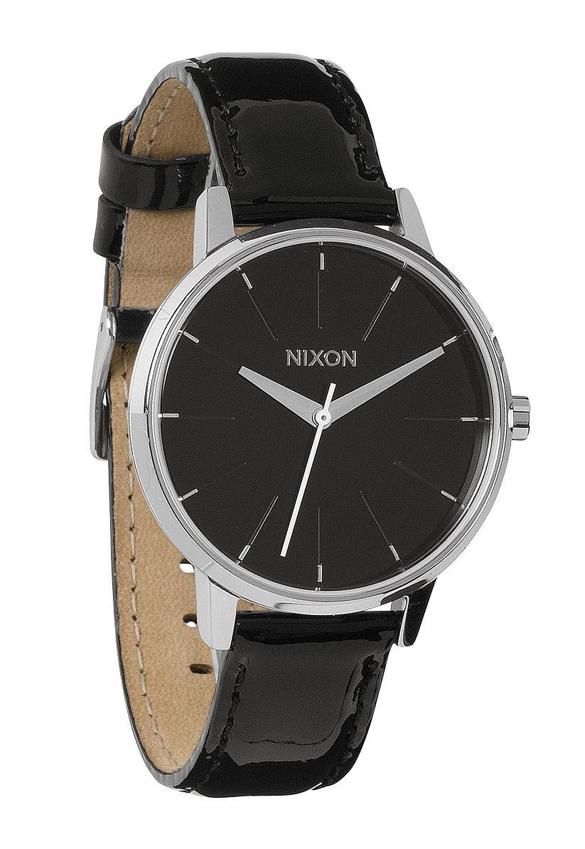 Nixon The Kensington Leather Black Patent