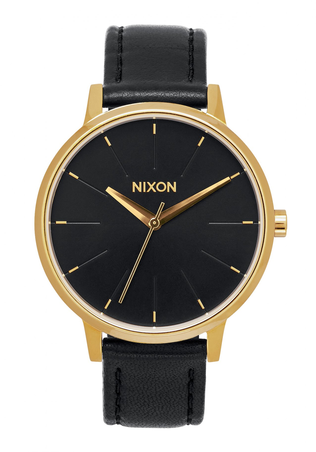 Nixon The Kensington Leather Gold / Black