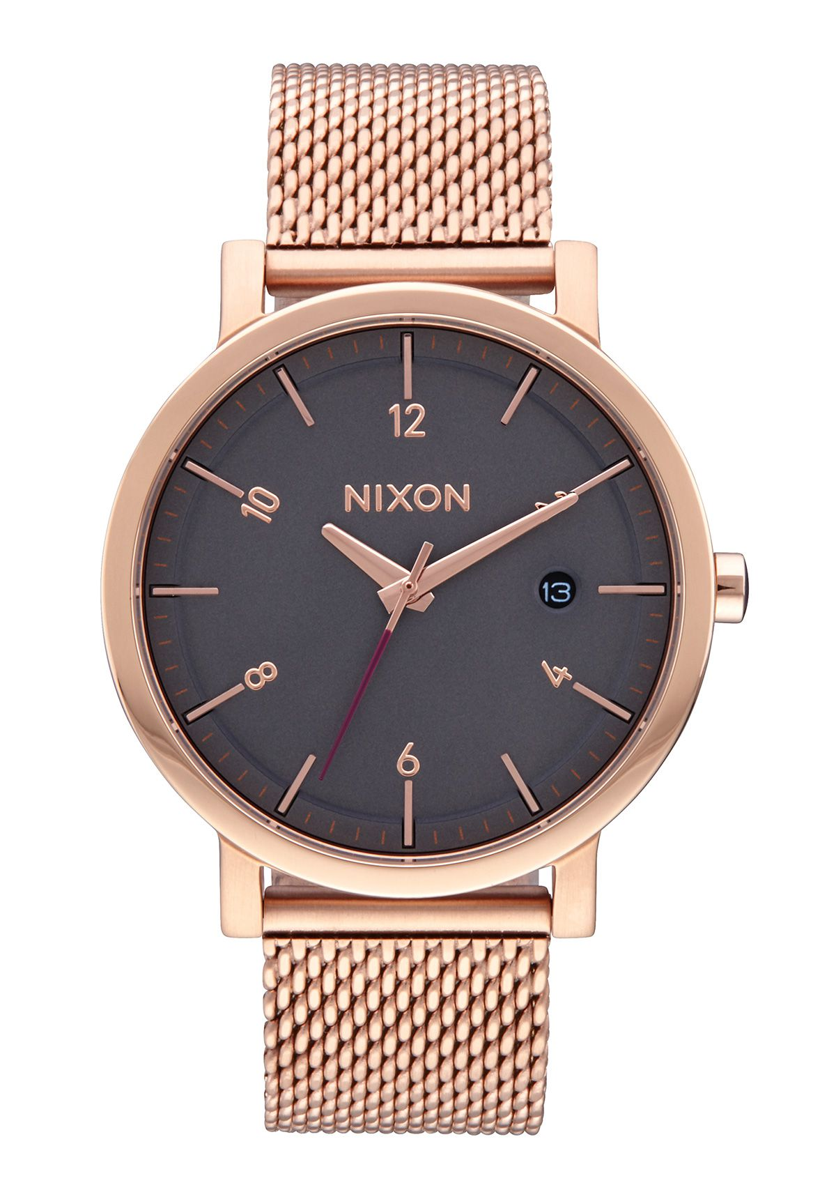 Nixon The Rollo 38 SS All Rose Gold / Charcoal