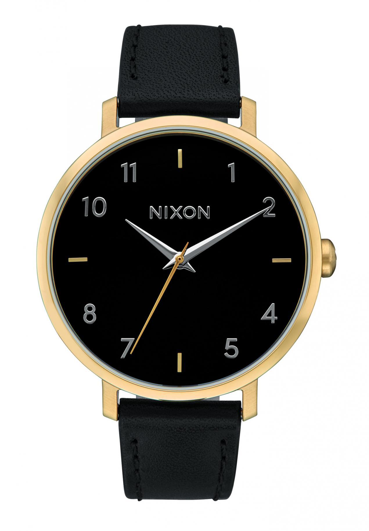 Nixon The Arrow Leather Gold / Black