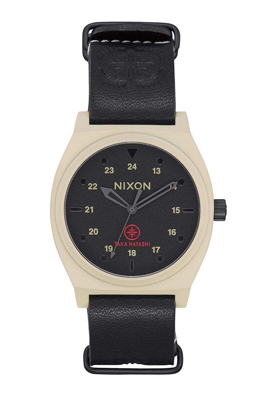 Nixon The Time Teller LTD Bone / Black Taka
