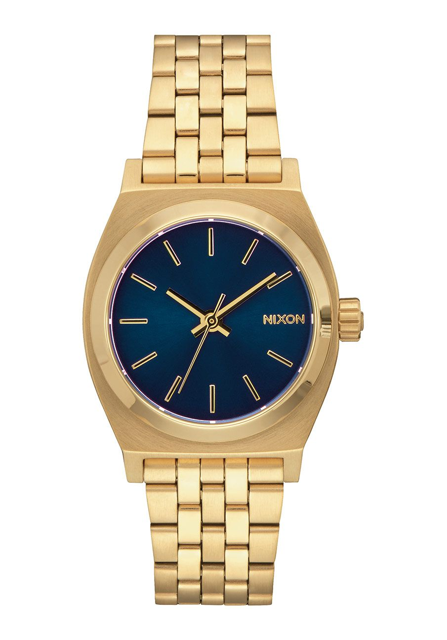 Nixon The Medium Time Teller All Light Gold / Cobalt