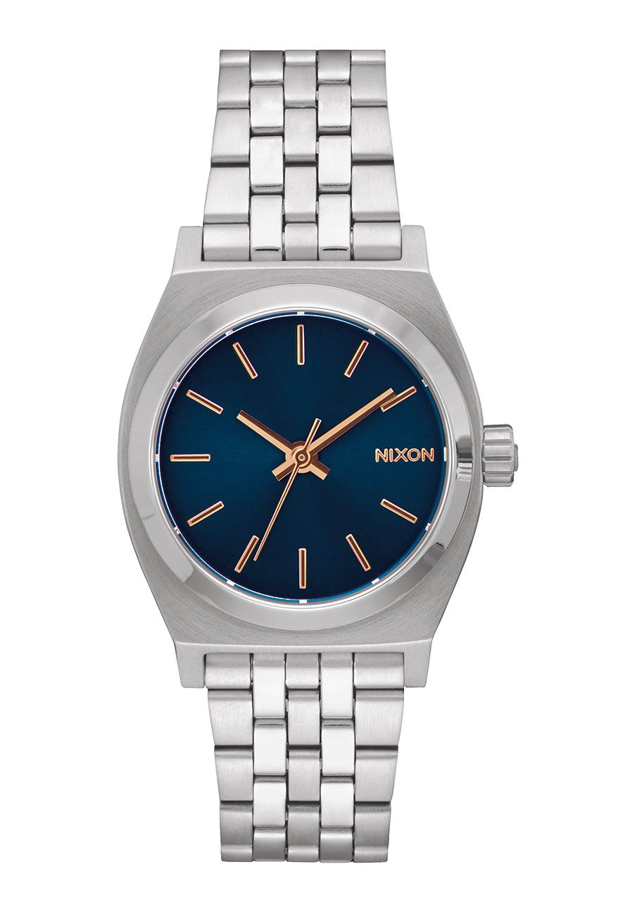 Nixon The Medium Time Teller Navy / Rose Gold