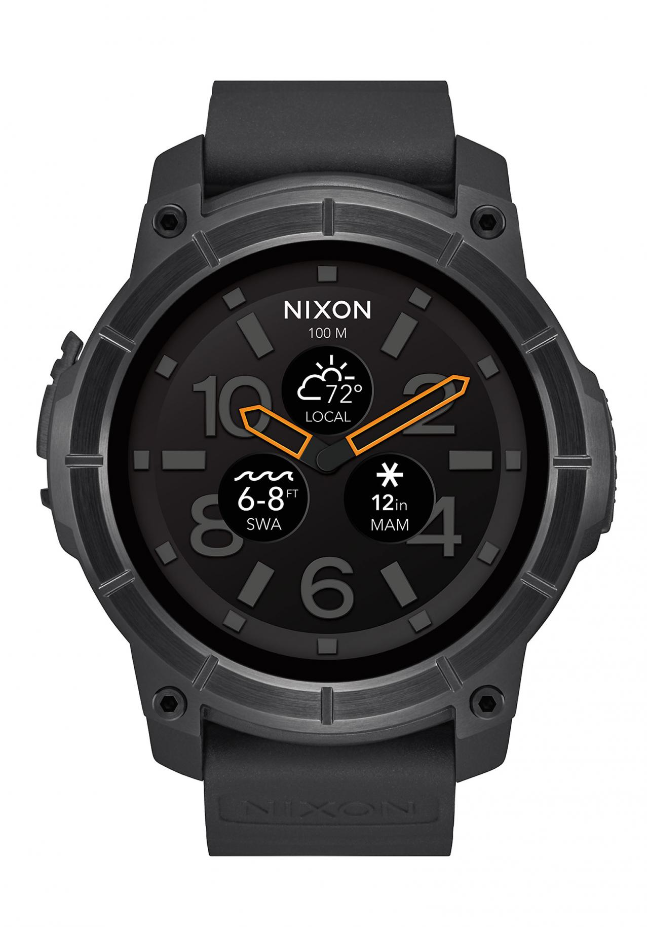 Nixon Mission All Black Smartwatch