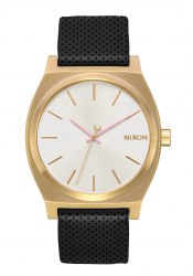 Nixon The Medium Time Teller Leather Gold / Soft Pink / LH (A1172-2774)