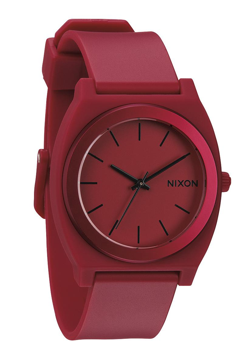 Nixon The Time Teller P Dark Red Ano Uhr