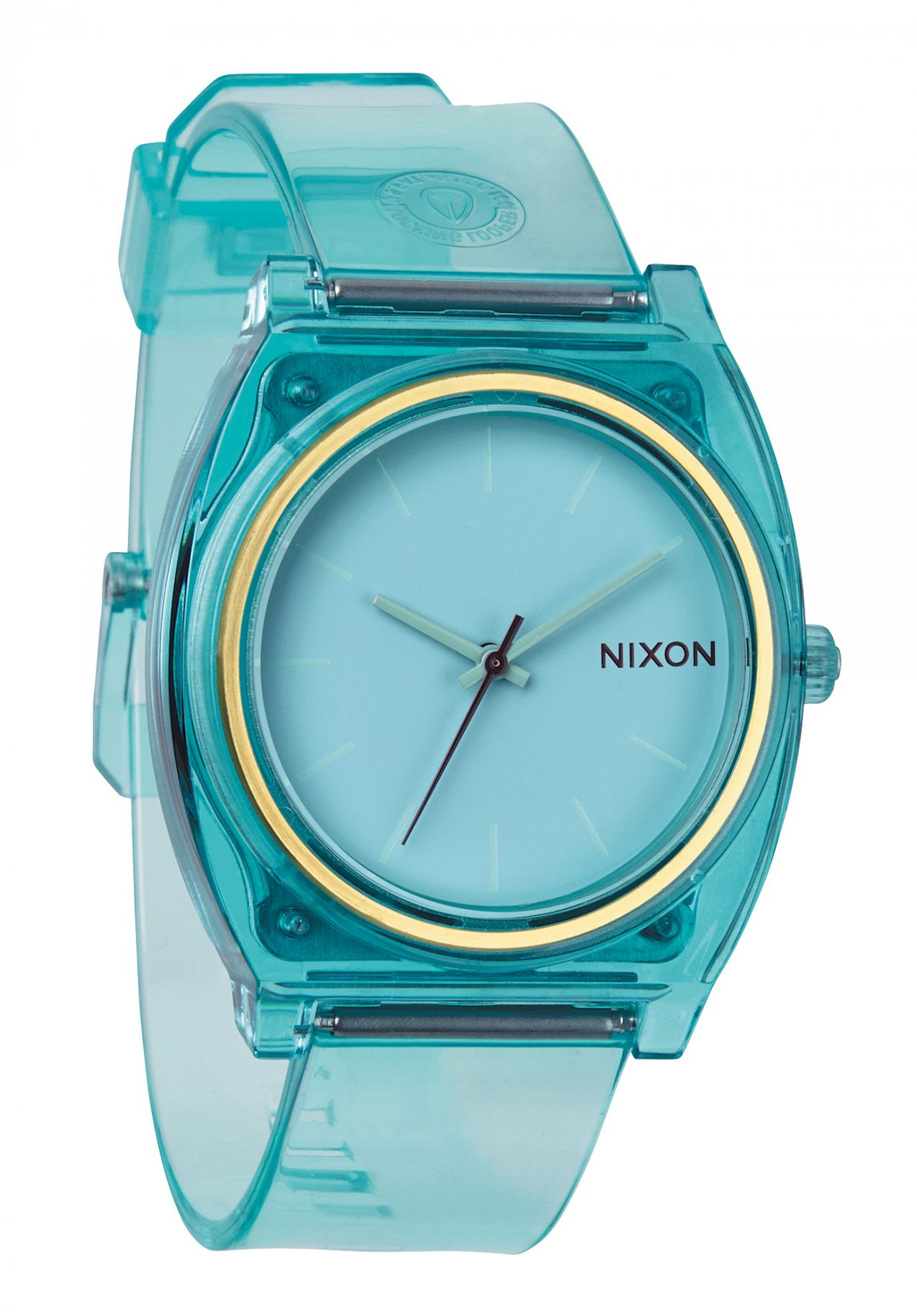 nixon the time teller p translucent mint a1191785 nur 49. Black Bedroom Furniture Sets. Home Design Ideas
