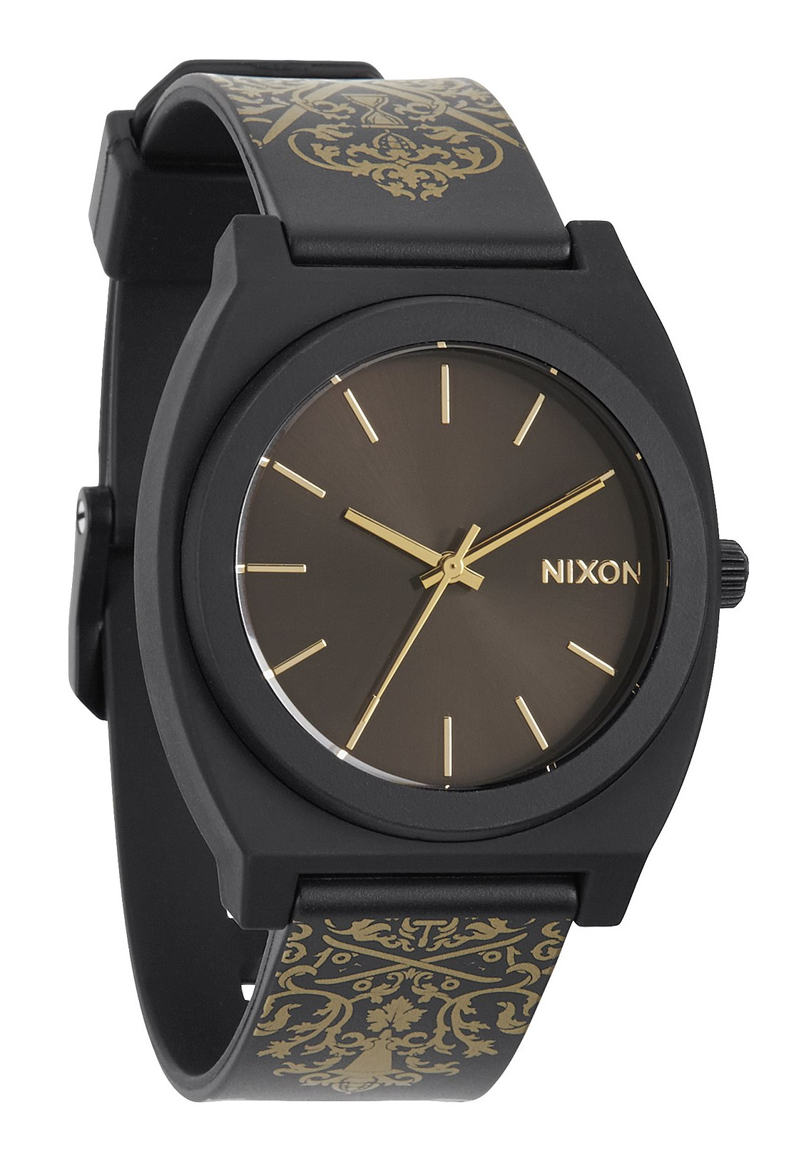 Nixon The Time Teller P Black / Gold Ornate