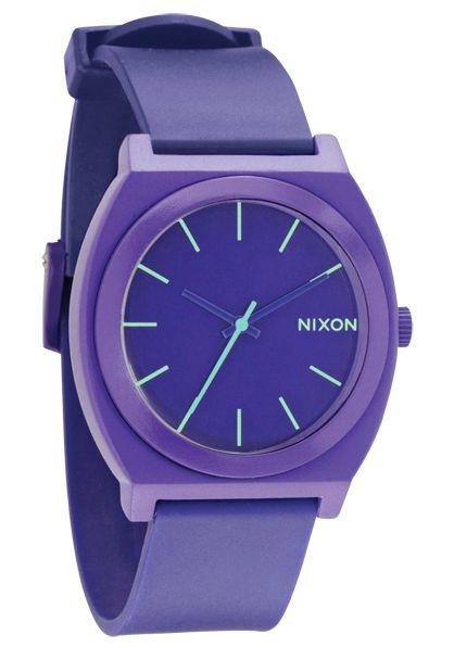 Nixon The Time Teller P Purple Uhr