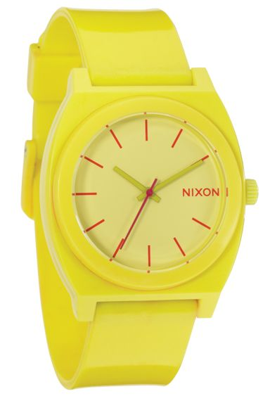 Nixon The Time Teller P Yellow Uhr
