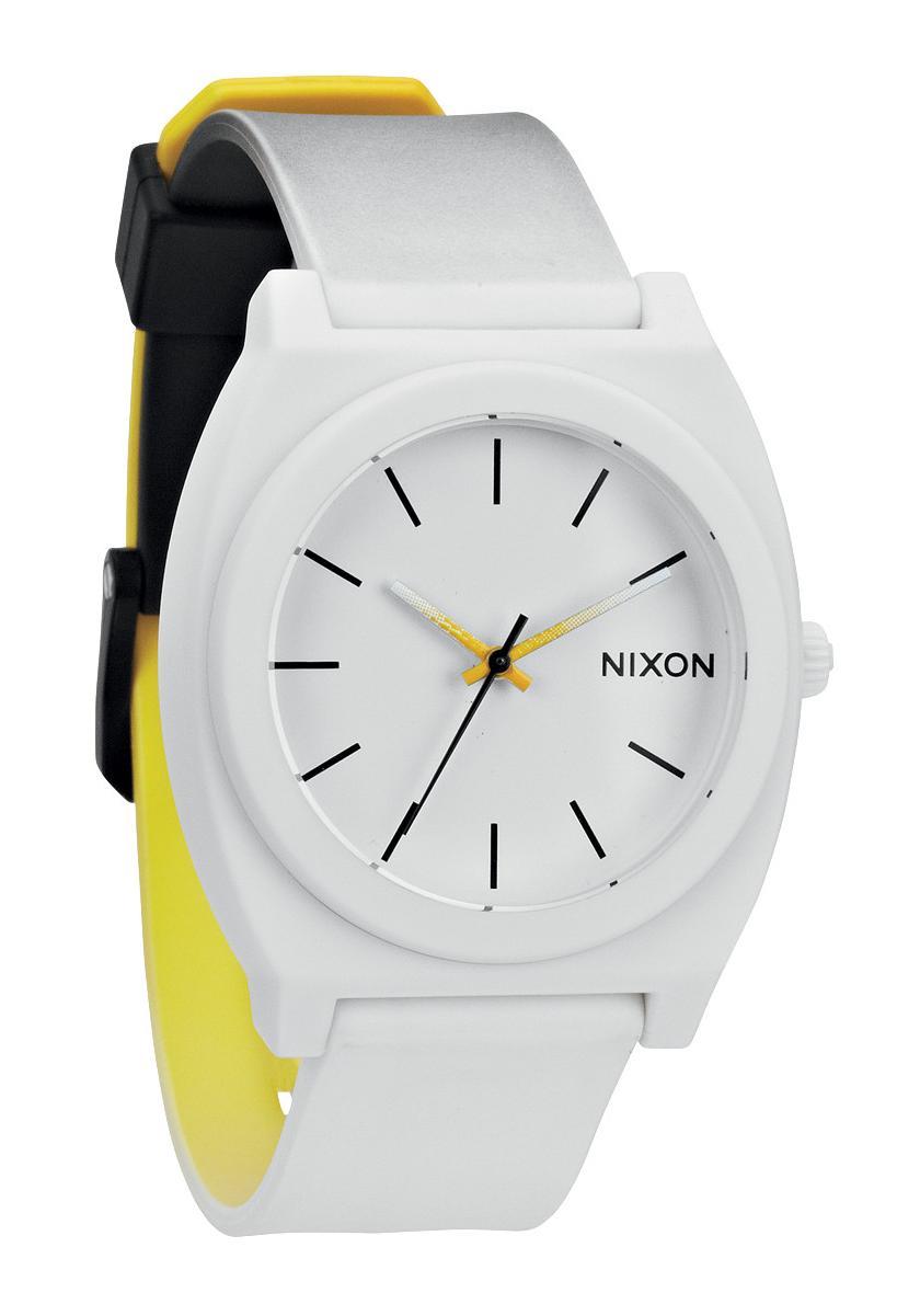 Nixon The Time Teller P Black / White / Yellow Fade