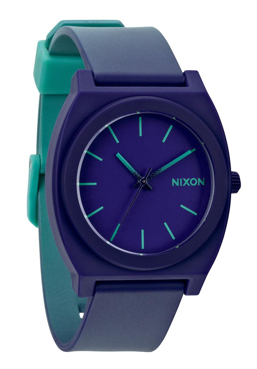 nixon the time teller p teal purple fade a119379 nur 39 90. Black Bedroom Furniture Sets. Home Design Ideas