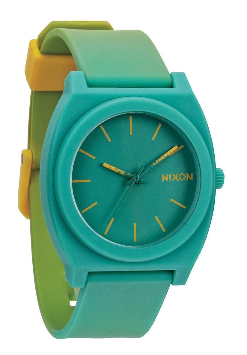 Nixon The Time Teller P Yellow / Teal Fade