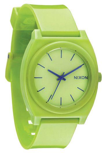 Nixon The Time Teller P Lime Uhr
