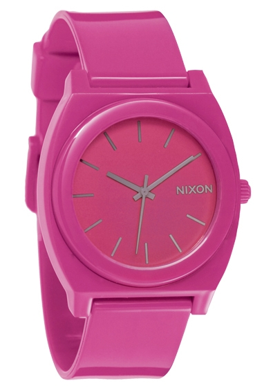 Nixon The Time Teller P Shocking Pink Uhr