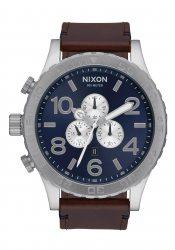 Nixon The 51-30 Chrono Leather Blue Sunray / Brown (A1242301)