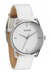 Nixon The Mellor Silver / White Herrenuhr (A129391)
