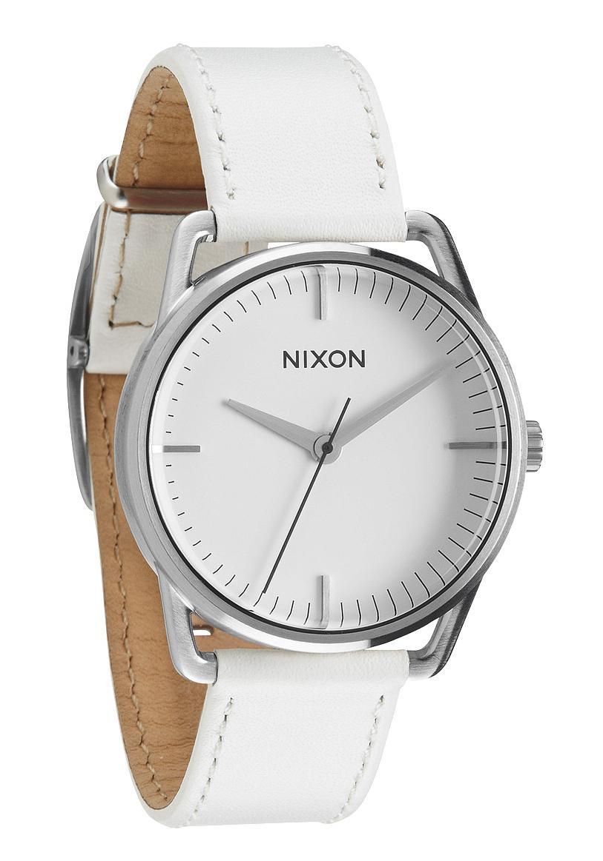 Nixon The Mellor Silver / White Damenuhr
