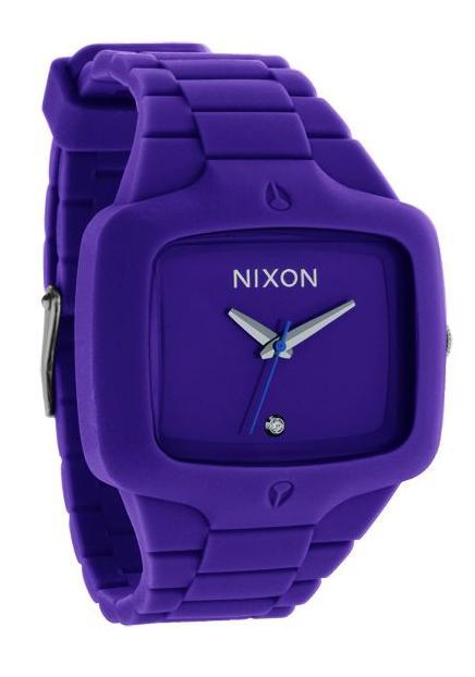 Nixon The Rubber Player Purple Herrenuhr