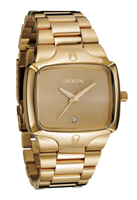 Nixon The Player Gold/Gold Herrenuhr