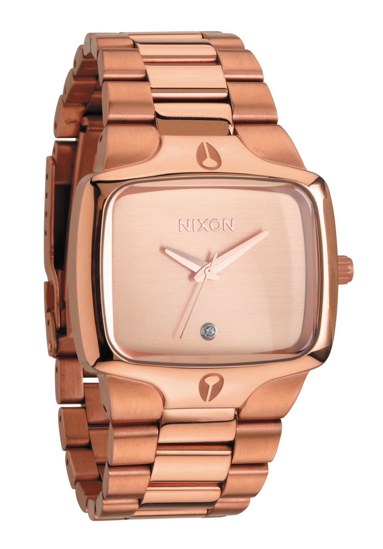 Nixon The Player All Rose Gold Herrenuhr