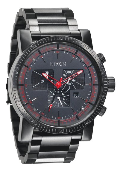 nixon the magnacon ss all black herrenchronograph nur 499 00. Black Bedroom Furniture Sets. Home Design Ideas