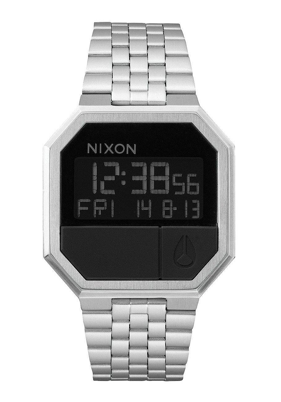 Nixon The Re-Run Black Herrenuhr