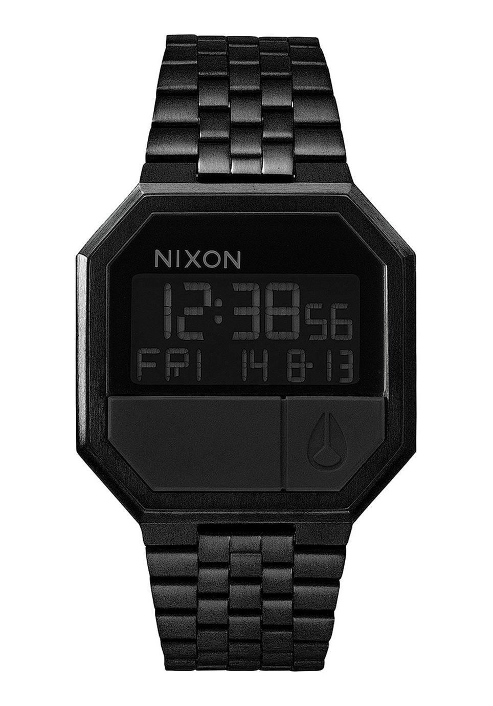 Nixon The Re-Run All Black Herrenuhr