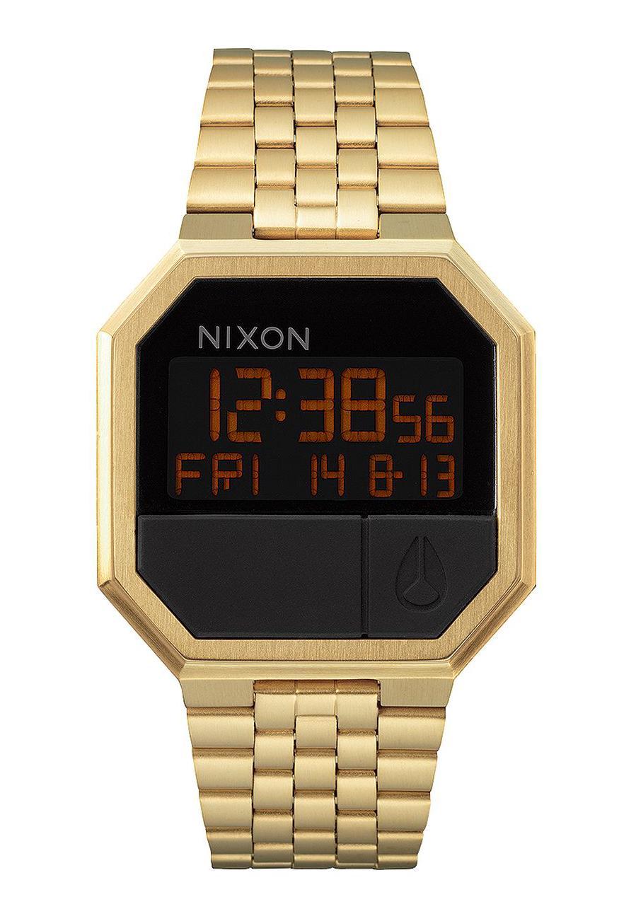 Nixon The Re-Run All Gold Herrenuhr