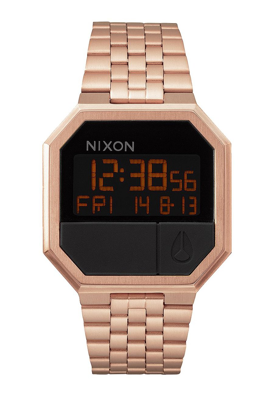 nixon the re run all rose gold a158897 nur 119 00. Black Bedroom Furniture Sets. Home Design Ideas