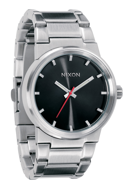 Nixon The Cannon Black Herrenuhr