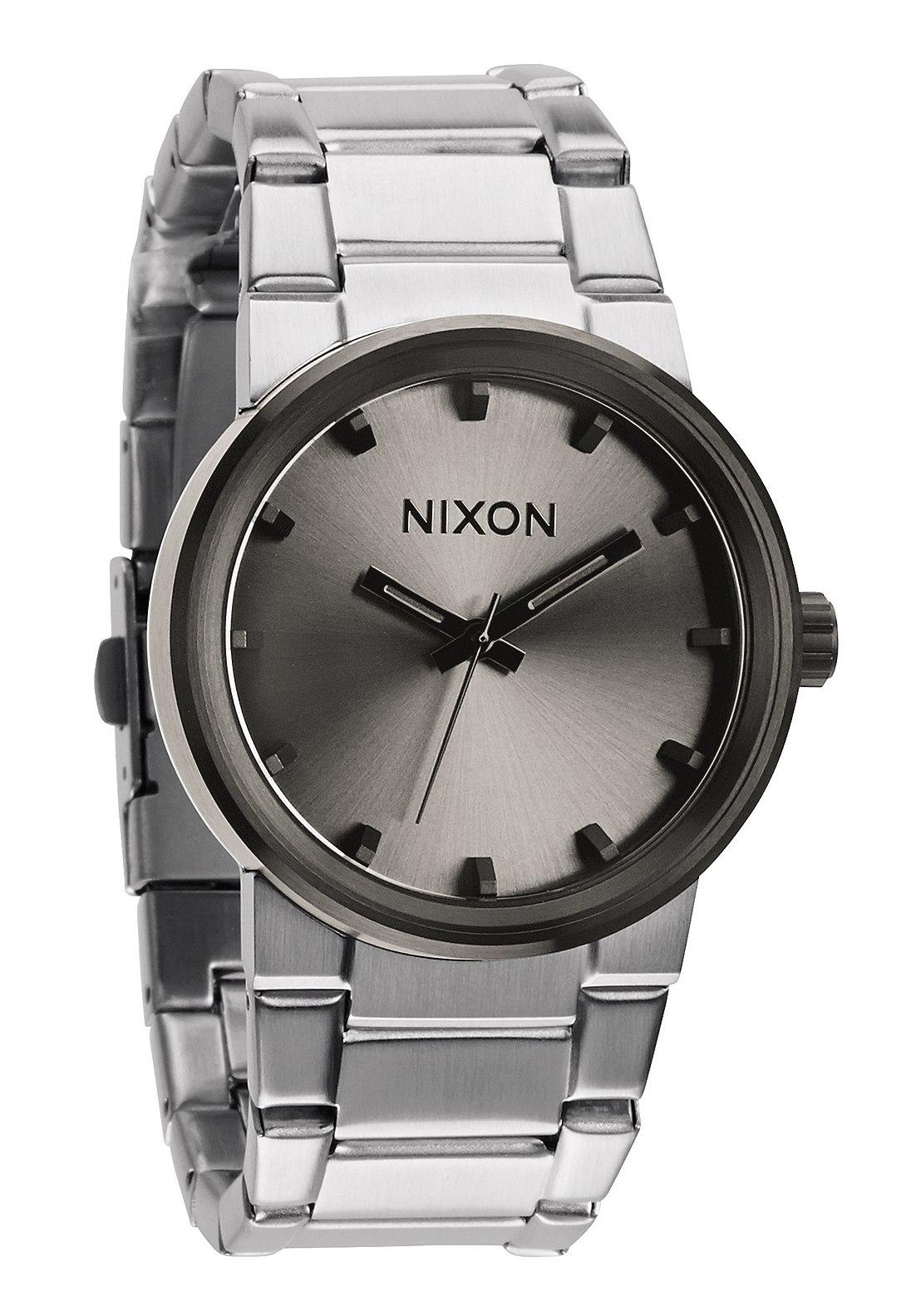 nixon the cannon silver gunmetal a1601762 nur 89 00. Black Bedroom Furniture Sets. Home Design Ideas