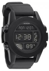 Nixon The Unit Black Herrenchronograph (A197000)