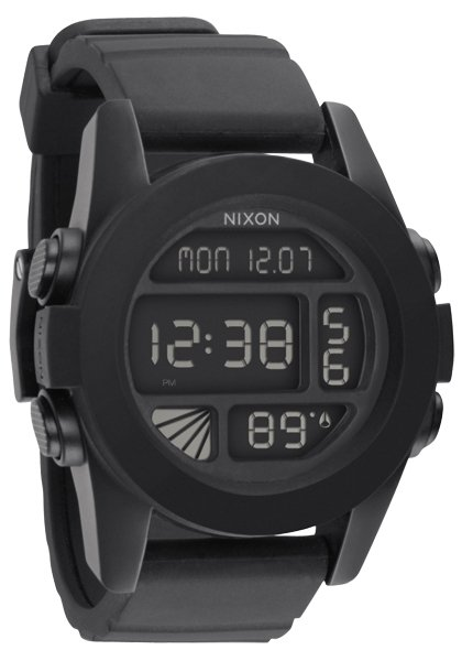 Nixon The Unit Black Herrenchronograph