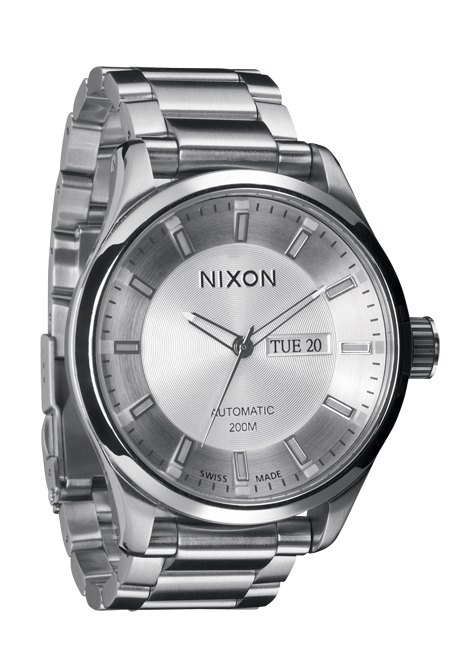 nixon the automatic ii white herrenuhr a209100 nur 695 00. Black Bedroom Furniture Sets. Home Design Ideas