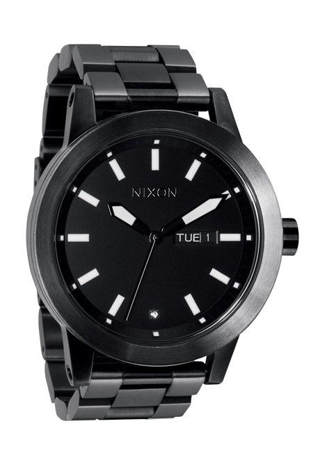 Nixon The Spur Matte Black/Gunmetal Herrenuhr