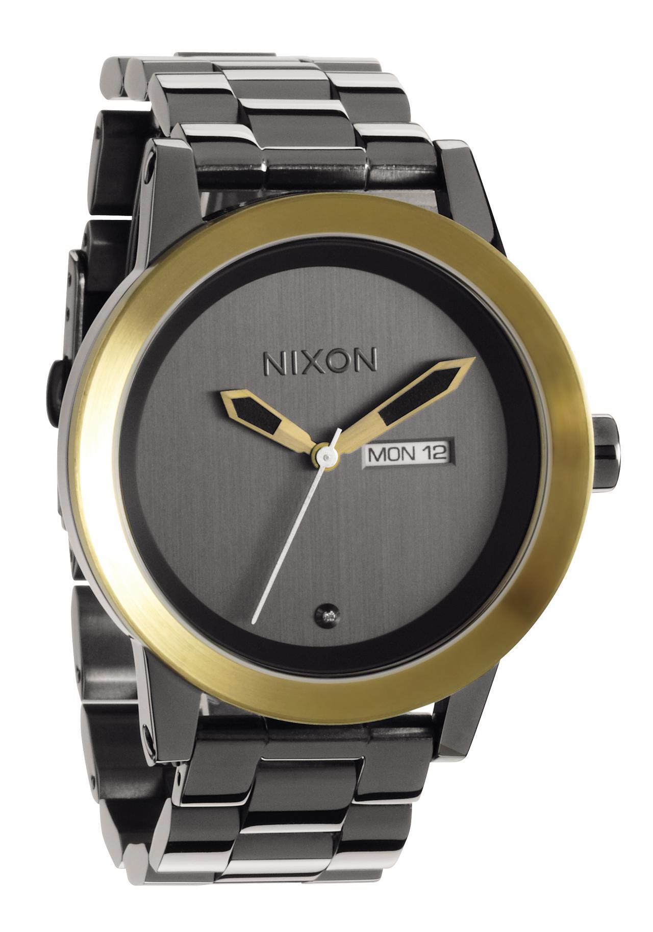 Nixon The Spur Gun n Gold Herrenuhr