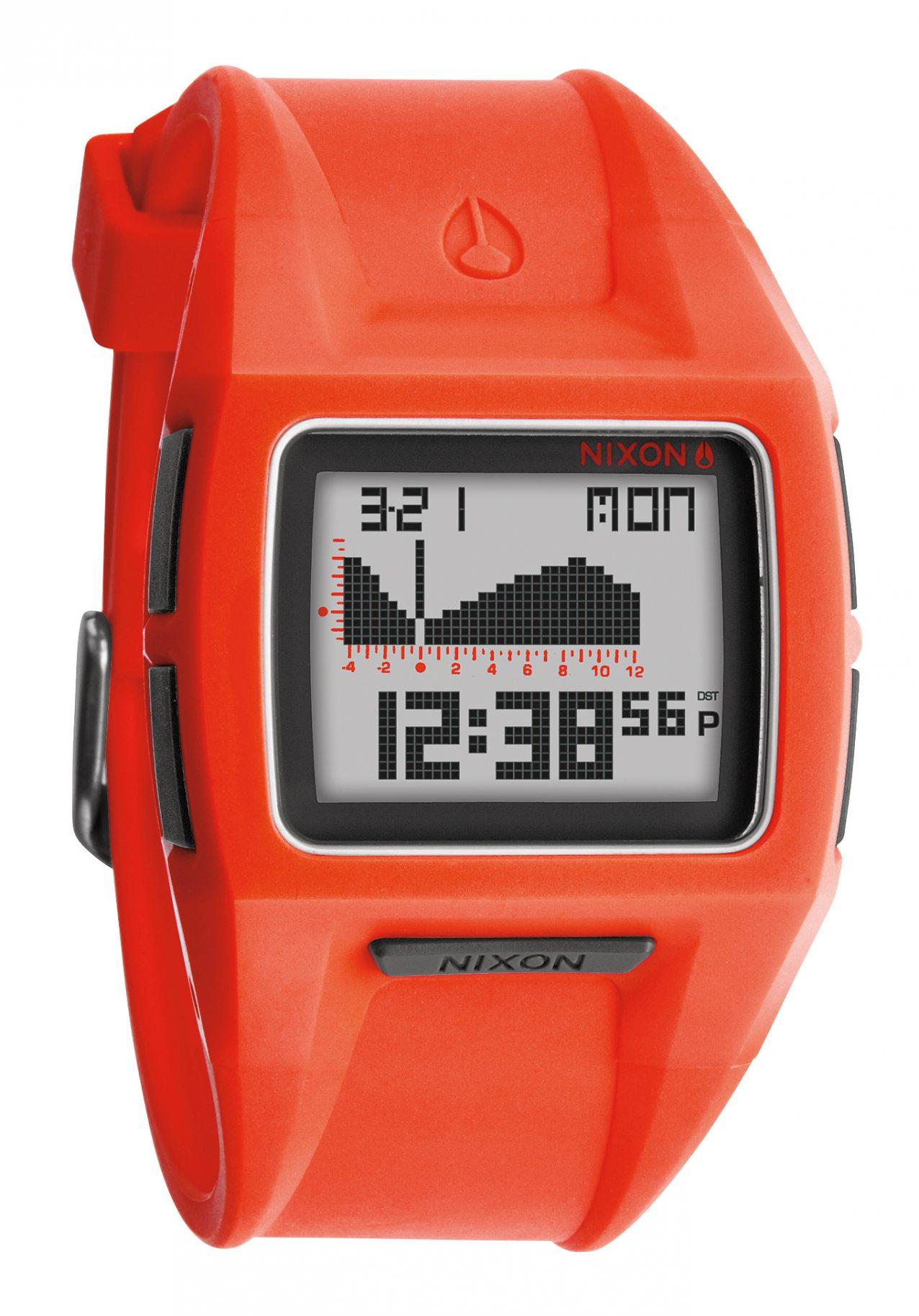 Nixon The Lodown 2 Neon Orange Herrenuhr