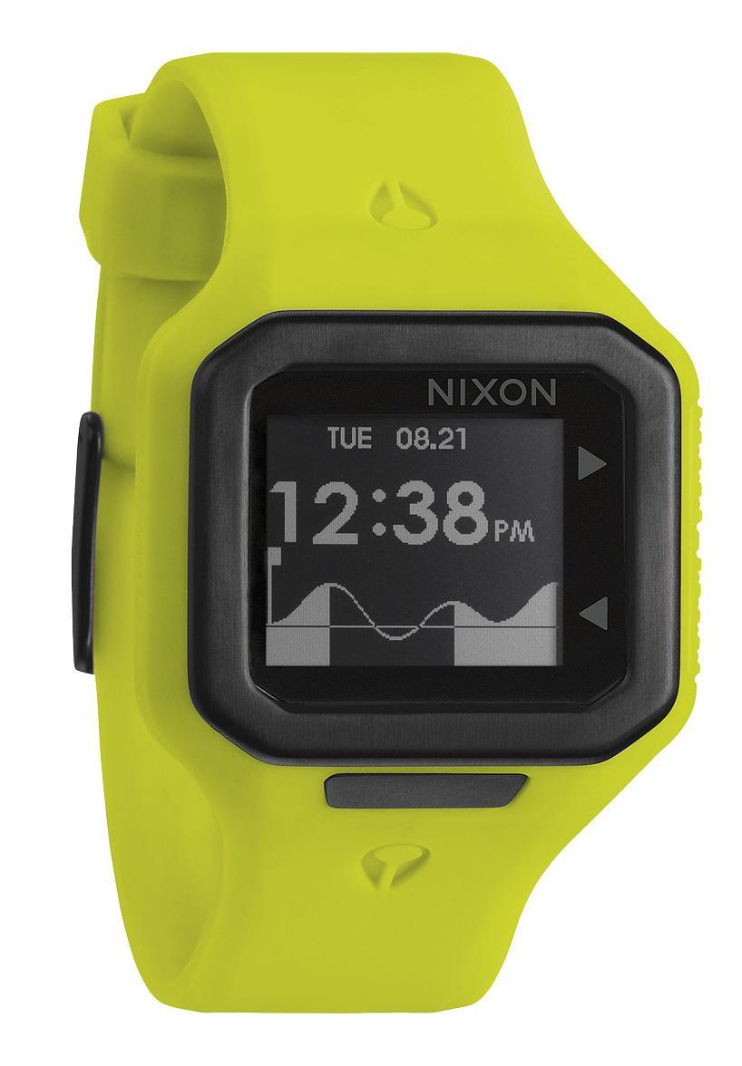 Nixon The Supertide Neon Yellow Herrenuhr