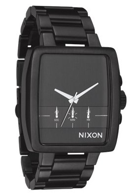 Nixon The Axis All Gunmetal Herrenchronograph
