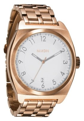 Nixon The Monopoly Rose Gold Herrenuhr