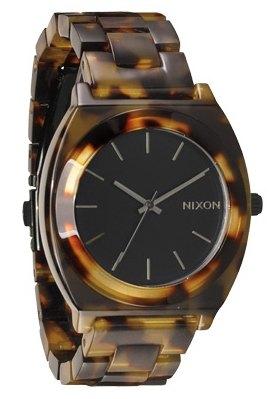 Nixon The Time Teller Acetate Tortoise Damenuhr