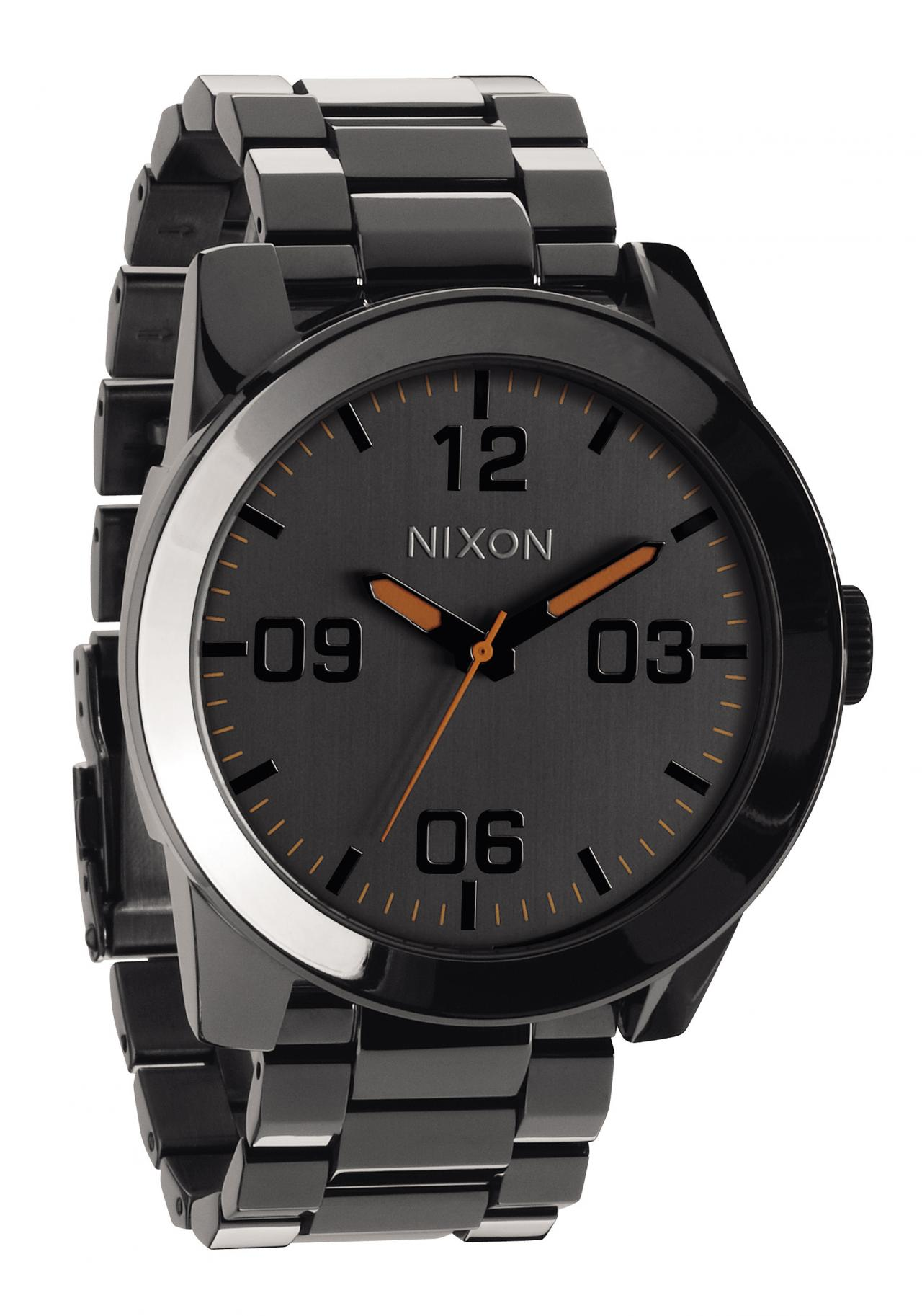 Nixon The Corporal SS Steel Gray Herrenuhr