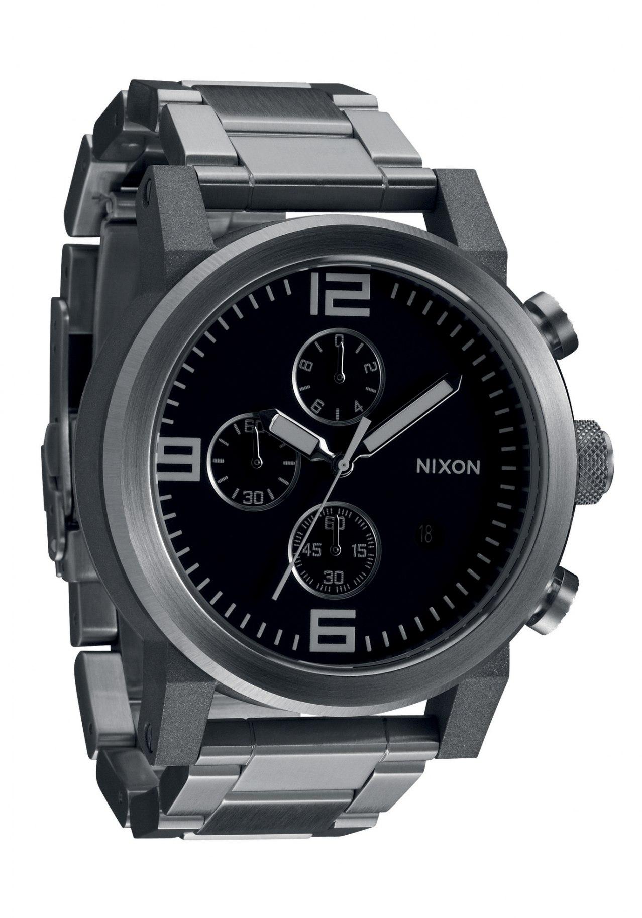 Nixon The Ride SS Black Herrenchronograph