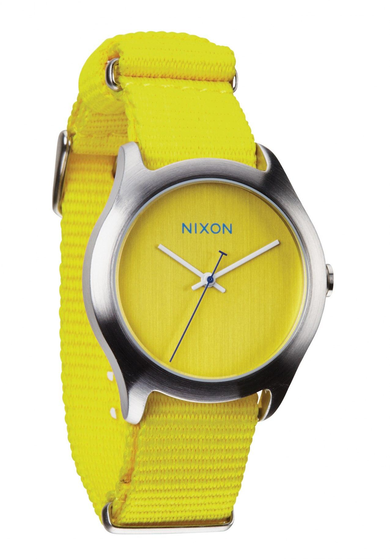 Nixon The Mod Bright Yellow