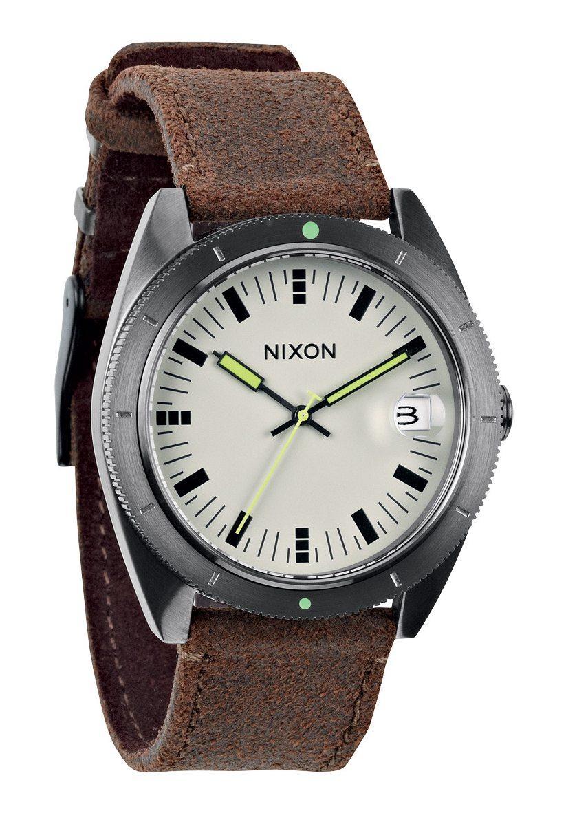 Nixon The Rover II Gunmetal / Brown Herrenuhr