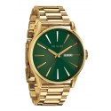 Nixon The Sentry SS Gold / Green Sunray